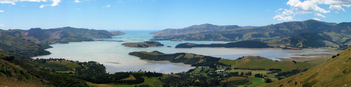 Governors Bay & Lyttelton Harbour from the Crater Rim Trail