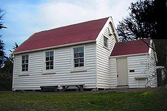 Former Governors Bay School 1868
