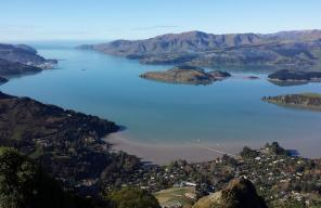View of Lyttelton Harbour
